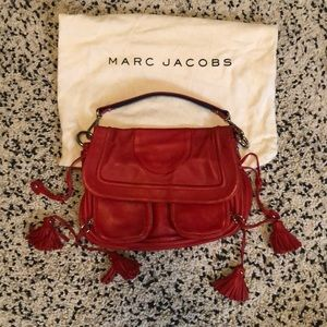 Marc Jacob Red Leather Bag